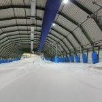 Sportproject skiën