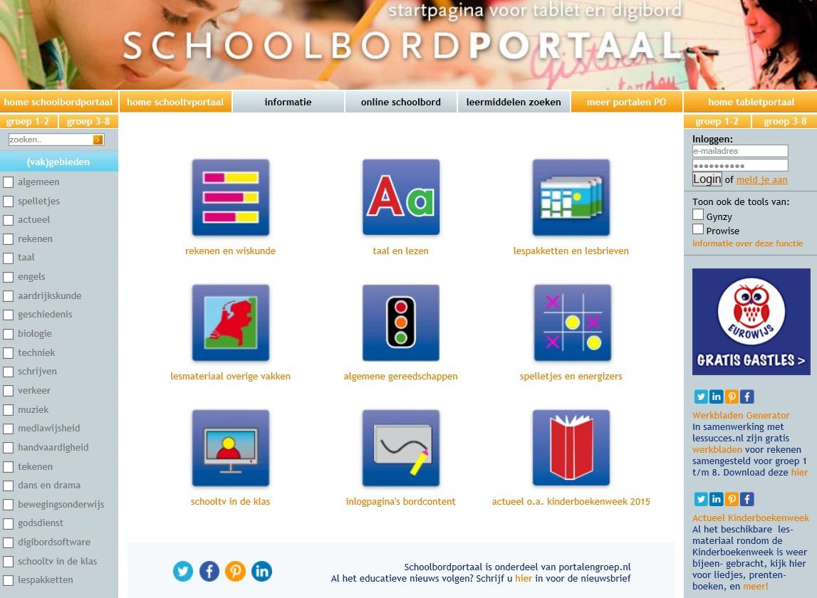 oefenen-schoolbordportaal - mytylschool roosendaal